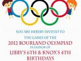 Olympic Birthday Party Invitations Olympic Party Invitation Olympics Birthday Invitation Digial