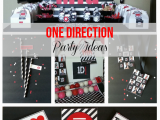 One Direction Birthday Decorations Glamour Avenue Parties the Blog Real Party Feature One