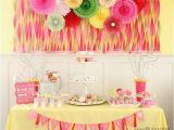 One Year Old Birthday Decorations 50 Birthday Party themes for Girls I Heart Nap Time