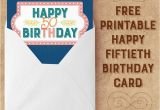 Online 50th Birthday Cards Salmon Navy Happy 50th Birthday Card Free Printables Online