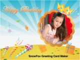 Online Birthday Card Generator Greeting Card Maker Make E Cards with Your Photo