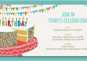 Online Birthday Invitations To Email 9 Party Free Editable Psd Ai Vector