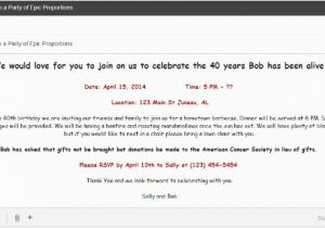 Online Birthday Invitations To Email Invites Templates