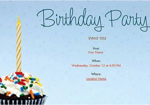 Online Birthday Invitations To Email Easy And Lovely