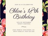 Online Birthday Invitations with Rsvp Birthday Rsvp Cards Templates Customize 1 023 18th