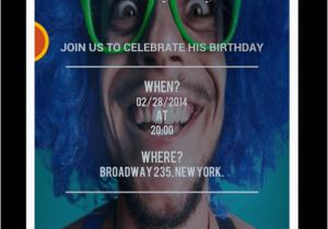 Online Birthday Invitations With Rsvp Free Party Cimvitation BirthdayBuzz