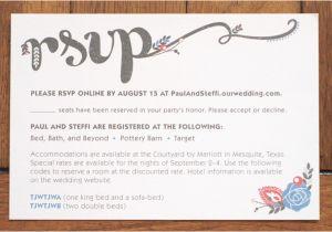 Online Birthday Invitations With Rsvp Wedding Invitation Jamie Bartlett Design
