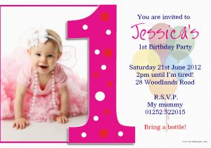 Online First Birthday Invitation Cards Beautiful Ideas One Years