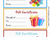 Online Gift Cards for Birthdays Birthday Gift Certificate Clipart Clipart Suggest