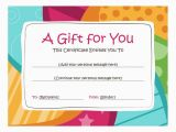 Online Gift Cards for Birthdays Birthday Gift Certificate Template Free Printables