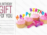 Online Gift Cards for Birthdays Celebration Birthday Gift Certificate Template