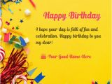 Online Happy Birthday Card with Name Edit Happy Birthday Cards Name Edit Happy Birthday Bro