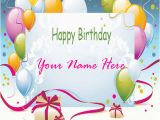 Online Happy Birthday Card with Name Edit Happy Birthday Cards with Name Edit