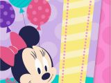 Online Musical Birthday Cards Minnie Mouse Musical 1st Birthday Card Greeting Cards