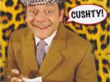 Only Fools and Horses Birthday Card Only Fools and Horses Cushty Square Greeting Card