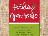 Open House Birthday Party Invitation Wording Open House Invitation