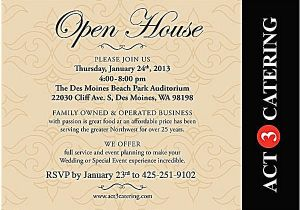 Open House Birthday Party Invitation Wording Open House Invitation Wording Party Depict Cute