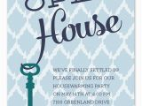 Open House Birthday Party Invitation Wording Open House Key Party Invitations by Invitation