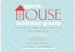 Open House Birthday Party Invitation Wording Open House Party Invitation Wording