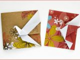 Origami for Birthday Cards origami Greeting Cards Crane Greeting Card by Didier