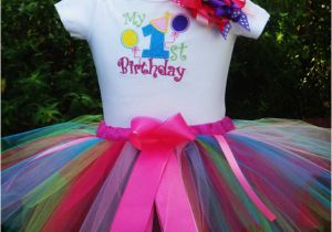 Outfits for 1 Year Old Birthday Girl 1st Birthday Girl Outfitfun Colors One Year Old Girl Birthday
