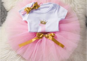 Outfits for 1 Year Old Birthday Girl Aini Babe Baby Girl 1st Birthday Outfits One Year Old