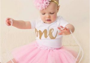 Outfits for First Birthday Girl First Birthday Outfit Girl 1st Birthday Girl Outfit Pink and
