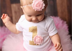 Outfits for First Birthday Girl First Birthday Outfit Girl Girl 1st Bday Outfit First Bday