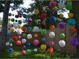Outside Birthday Party Decorations Diy Outdoor Party Decorations Waterproof Pom Poms Doin