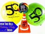 Over the Hill 50th Birthday Decorations Over the Hill Birthday Party Ideas Aa Gifts Baskets