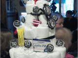 Over the Hill Birthday Gifts for Him Over the Hill Depends Diaper Cake I Made for My Dad