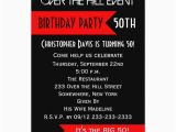 Over the Hill Birthday Invitation Templates 50th Birthday Party Invitation Over the Hill Zazzle Com