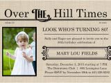Over the Hill Birthday Invitation Templates Over the Hill Birthday Invitations Bagvania Free