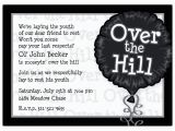 Over the Hill Birthday Invitation Templates Over the Hill Photo Birthday Invitations Paperstyle
