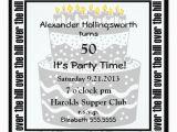 Over the Hill Birthday Invitations Birthday Cake Over the Hill Party Invitation Zazzle
