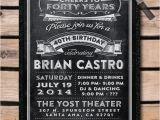 Over the Hill Birthday Invitations Over the Hill 40th Birthday Party Invitation Di 460