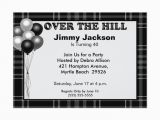 Over the Hill Birthday Invitations Over the Hill Birthday Invitations Zazzle