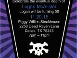 Over the Hill Birthday Invitations Over the Hill Coffin Birthday by Cardsdirect