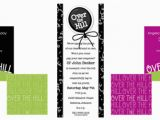 Over the Hill Birthday Invitations Over the Hill Gag Gifts Gift and Baskets Ideas