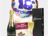 Overnight Birthday Gifts for Him 18th Birthday Champagne and Chocolates Gift Next Day