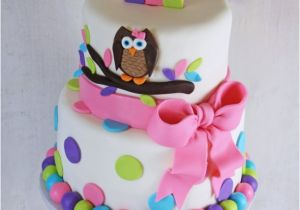 Owl Birthday Cake Decorations For Twins 1st Smash Cakes