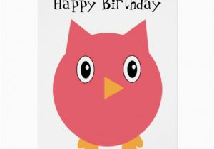 Owl Birthday Card Sayings the Gallery for Gt Owl Happy Birthday