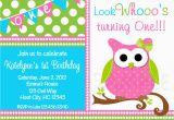 Owl Birthday Invitations Girl Birthday Party Invitations Girls Owl Birthday Party