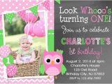 Owl Birthday Invitations Girl Chevron Owl Birthday Invitation Girls Owl 1st Birthday