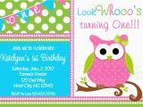 Owl Birthday Party Invites Birthday Party Invitations Girls Owl Birthday Party