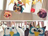 Owl Decorations for Birthday Night Owl Birthday Party Ideas