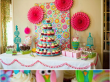 Owl First Birthday Decorations by Kara