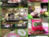 Owl themed Birthday Decorations Mkr Creations Owl theme Birthday Party