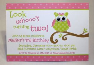 Owl themed Birthday Invitations Cute Owl Birthday Party Invitation 1 00 Each by Pmcinvitations