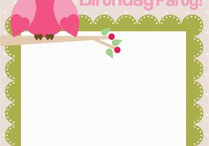 Owl themed Birthday Invitations Owl Birthday Party with Free Printables How to Nest for
